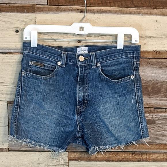 Calvin Klein Jeans Pants - Calvin Klein  Jean Cut Off Shorts sz 6